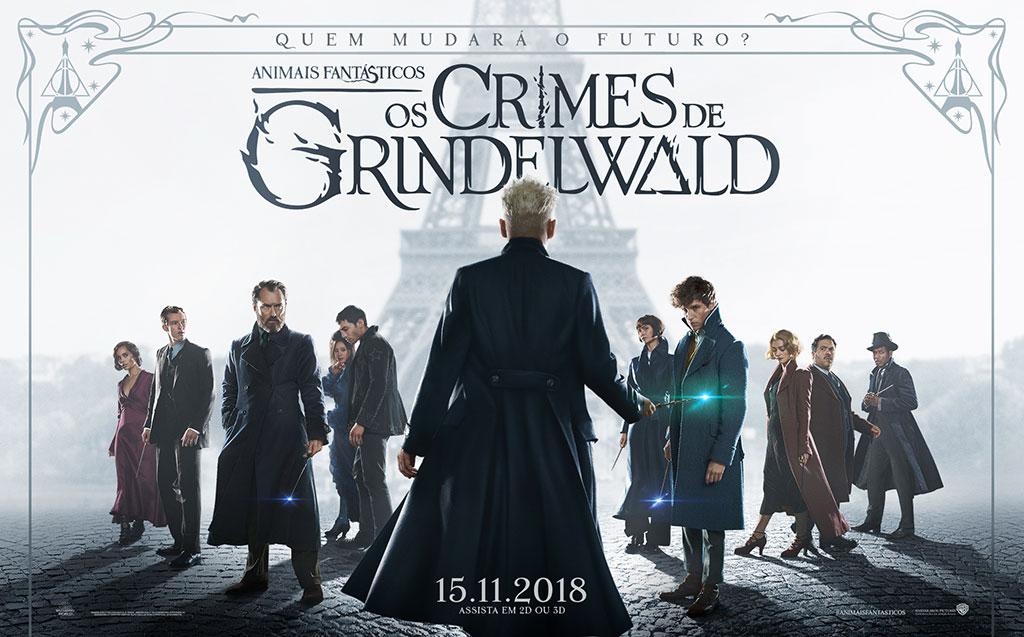 Resultado de imagem para Monstros Fantásticos - Os Crimes de Grindelwald