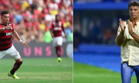 Flamengo e Grêmio ao vivo