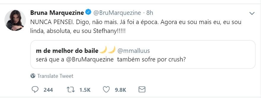 Bruna Marquezine Twitter