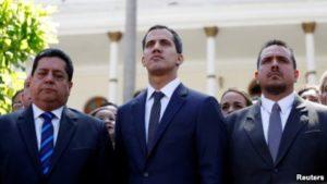 legisladores venezuelanos aliados de Guaido