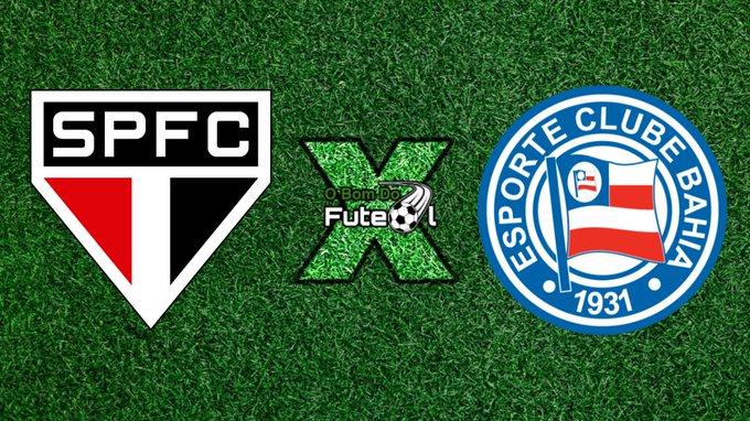 futebol São Paulo x Bahiaao vivo 19 05