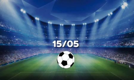 Futebol hoje 15 05