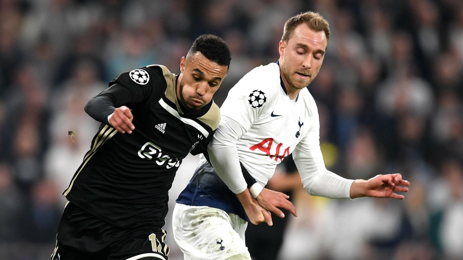 Ajax x Tottenham ao vivo no Esporte Interativo.