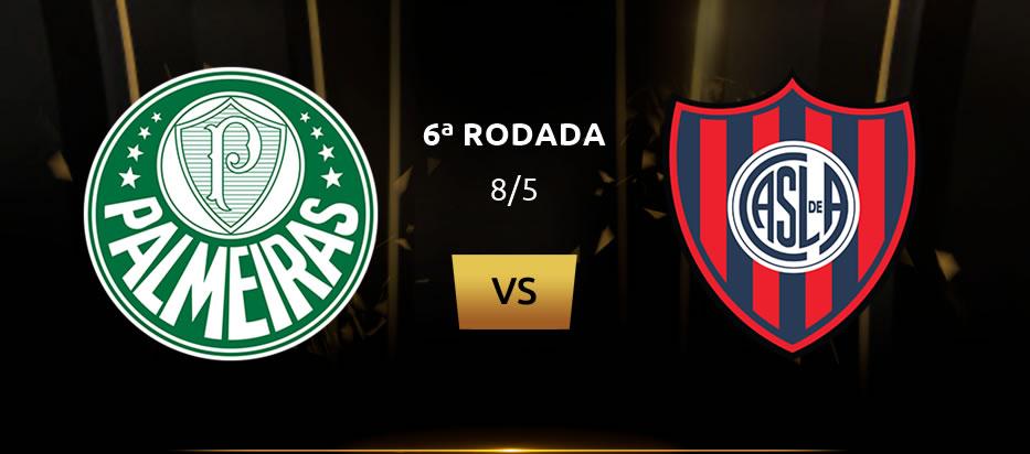 Palmeiras x San Lorenzo ao vivo