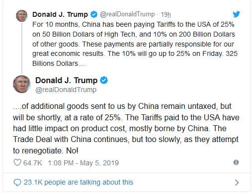 trump guerra comercial china