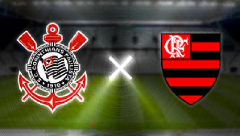 flamengo tem vantagem na partida de futebol ao vivo contra o Corinthians