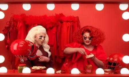 drag queens comercial super bowl